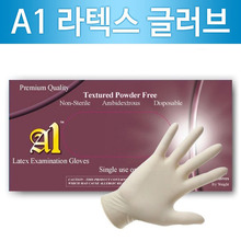 A1 Latex Examination Gloves/라텍스 글러브